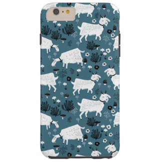 Goat Farm Animal Blue Baby Kid Boy / Andrea Lauren Tough iPhone 6 Plus Case