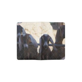 Goat Gathering Pocket Moleskine Notebook
