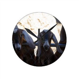 Goat Gathering Wallclocks
