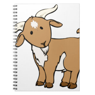 goat goatee note book