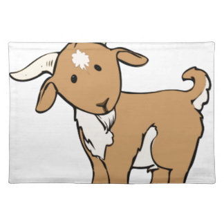 goat goatee placemat