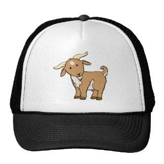 goat goatee trucker hat