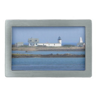 Goat Island Lighthouse Belt Buckle