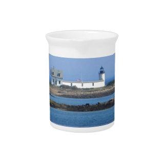 Goat Island Lighthouse Drink Pitchers