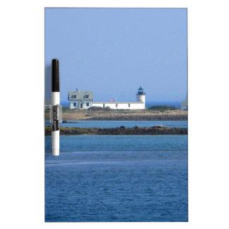 Goat Island Lighthouse Dry-Erase Whiteboards