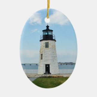 Goat Island Lighthouse Ornament