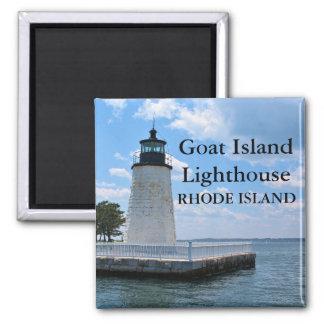 Goat Island Lighthouse, Rhode Island Magnet