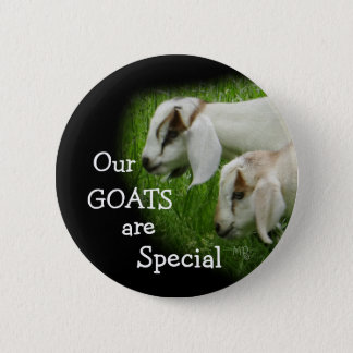 Goat Kids pin-personalize 2 Inch Round Button