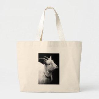 goat large tote bag