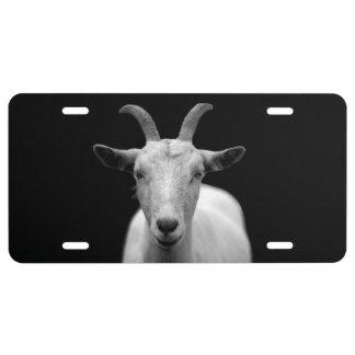 Goat License Plate