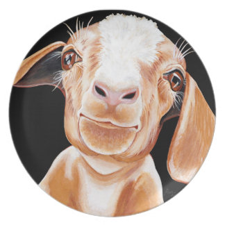 Goat Love Plate