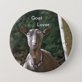 Goat Lover 3 Inch Round Button