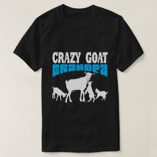 GOAT Lover | Crazy Goat Grandpa Blue GYG T-Shirt