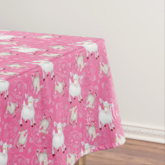 GOAT Lover | Too Many Goats GetYerGoat™ Tablecloth