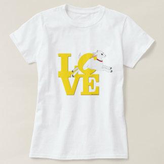 GOAT LOVER | YELLOW Goat L O V E - White Goat T-Shirt