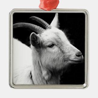 goat metal ornament