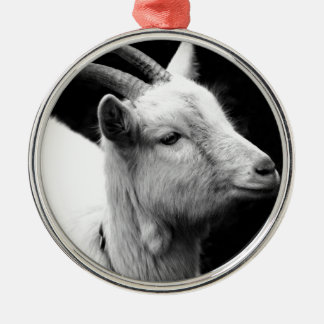 goat metal ornament