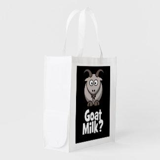 Goat Milk? Reusable Grocery Bags