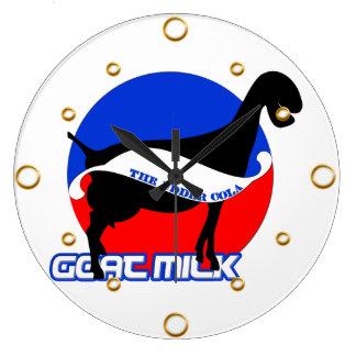 Goat Milk Wall Clock