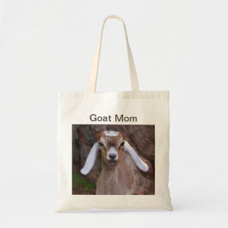 Goat Mom Tote Bag