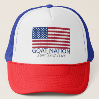 GOAT NATION The American Goat  GetYerGoat™ Trucker Hat