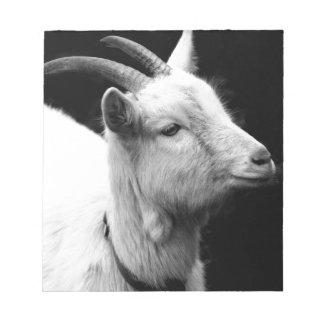 goat notepad