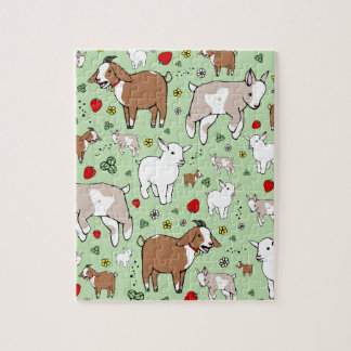 Goat Party Jigsaw Puzzle