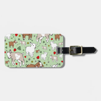 Goat Party Luggage Tag