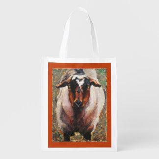 Goat reusable grocery bag Magnolia