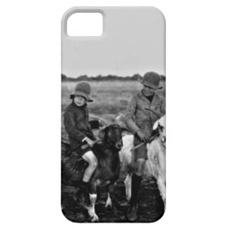 Goat Riders of the past iPhone 5 Cases