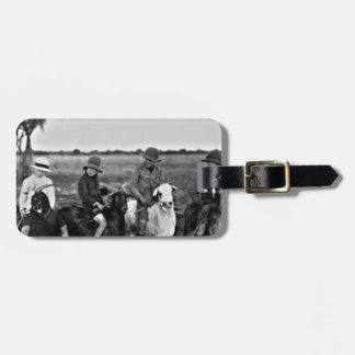 Goat Riders of the past Luggage Tag