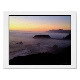 Goat Rock Sunset Photo Print  (14 x 11)