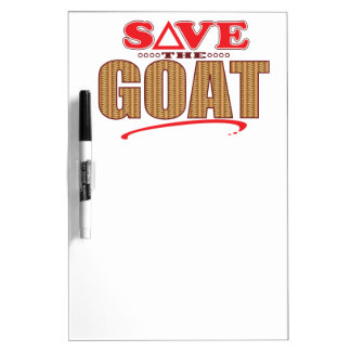 Goat Save Dry Erase Whiteboard