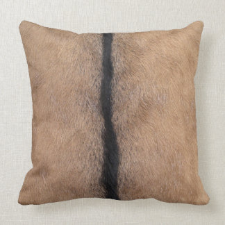 Goat Skin Throw Pillow