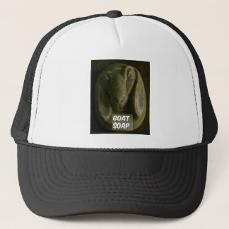 """goat soap for the """"clean"""" look trucker hat"""