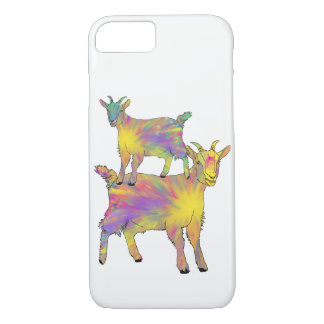 Goat Standing on Goat Psychedelic Animal Art iPhone 8/7 Case