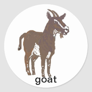 Goat stickers