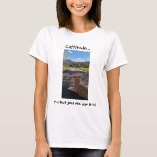 Goat-tees - Cattitude t-shirt