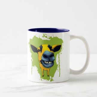 Goat Two-Tone Coffee Mug