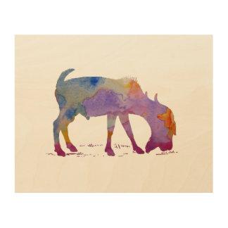 Goat Wood Prints