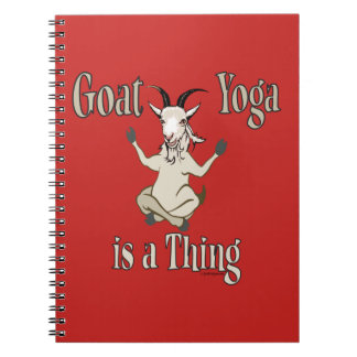 Goat Yoga is a Thing | GetYerGoat™ Notebook