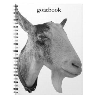 Goatbook Spiral Notebook