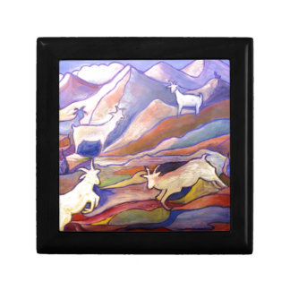 Goats and mountains gift box