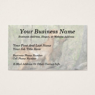 Goats At Work Business Card