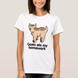 Goats ate my homework T-Shirt