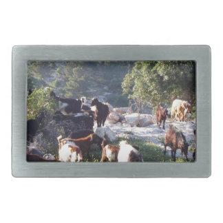 Goats Belt Buckle