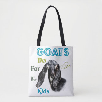 GOATS | Do it for the Kids GetYerGoat™ Tote Bag