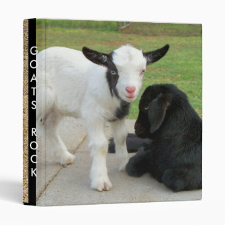 Goats Rock Vinyl Binder