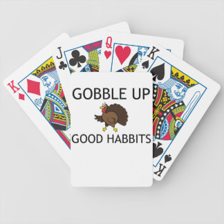 Gobble Bicycle Playing Cards