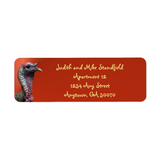 Gobble Gobble Gobble Address Labels